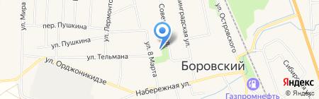 Газпром-Оптика на карте Боровского