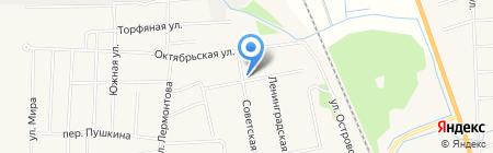Магазин смешанных товаров на карте Боровского