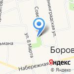 Панацея на карте Боровского