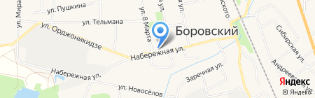 Лидер на карте Боровского