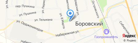 Промышленно-лизинговая компания на карте Боровского