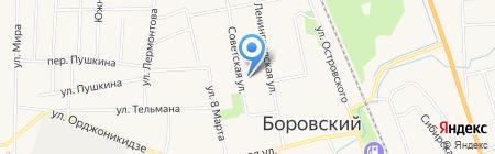 Абсолют-III на карте Боровского