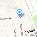 Дворец культуры на карте Боровского