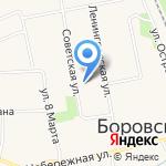 Горизонт на карте Боровского