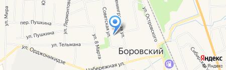 Связной на карте Боровского