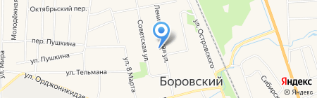 Банкомат ХАНТЫ-МАНСИЙСКИЙ БАНК ОТКРЫТИЕ на карте Боровского