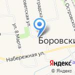 Мастер на карте Боровского