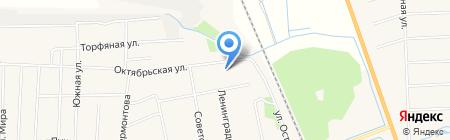 Боровский на карте Боровского