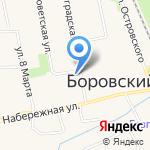 ПиръМаркет на карте Боровского