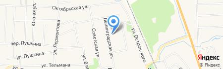 Средняя общеобразовательная школа №1 на карте Боровского