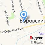 Вероника на карте Боровского