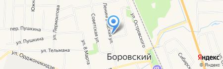 Наталь на карте Боровского