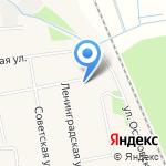 Журавушка на карте Боровского