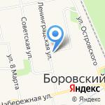 Аптека для Вас на карте Боровского