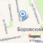 Императрица на карте Боровского