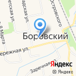 Храм Святителя Николая Чудотворца на карте Боровского