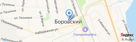 Евро-Оптика №1 на карте Боровского