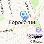Боровской формат на карте Боровского