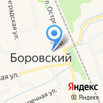 Нотариус Сорокина К.О. на карте Боровского