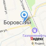 Орион на карте Боровского