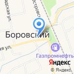 Магазин автозапчастей на карте Боровского