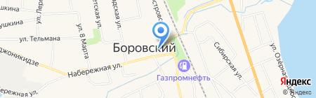 Безопасность плюс на карте Боровского