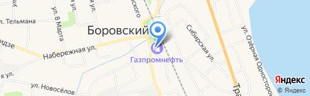 Банкомат Газпромбанк на карте Боровского