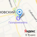 Газпромнефть на карте Боровского