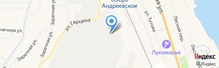 Стройматериалы на карте Боровского