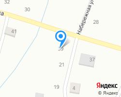 Схема местоположения почтового отделения 626393