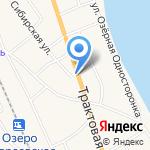 Строительный дворик на карте Боровского