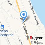 Выбор-2 на карте Боровского