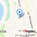 Средняя общеобразовательная школа им. Г.С. Ковальчука на карте Винзилей