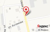 Схема проезда до компании Статус в Ембаево