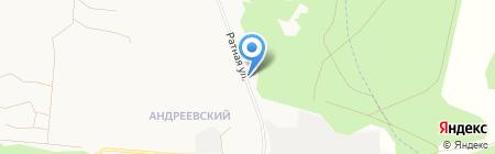 Военторг на карте Тюмени