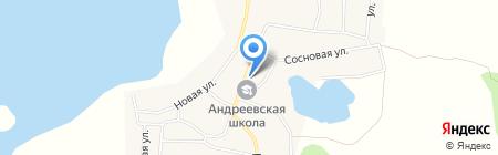 Татлы на карте Андреевского