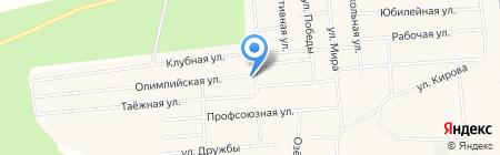 Эдем на карте Богандинского