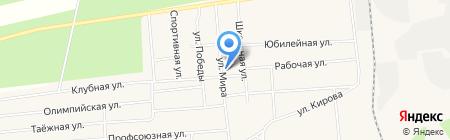 Банкомат ХАНТЫ-МАНСИЙСКИЙ БАНК ОТКРЫТИЕ на карте Богандинского