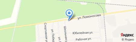 Викулов Г.В. на карте Богандинского