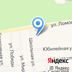 Магазин по продаже цветов на карте Богандинского