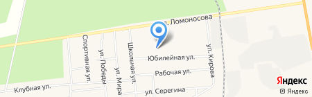 Тепло Сибири на карте Богандинского