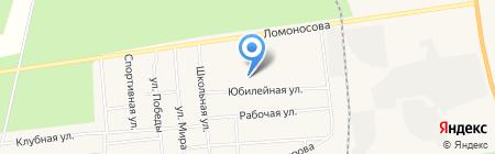 Березка на карте Богандинского