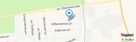 Средняя общеобразовательная школа №1 на карте Богандинского