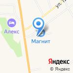 Магазин хозяйственных товаров на карте Богандинского