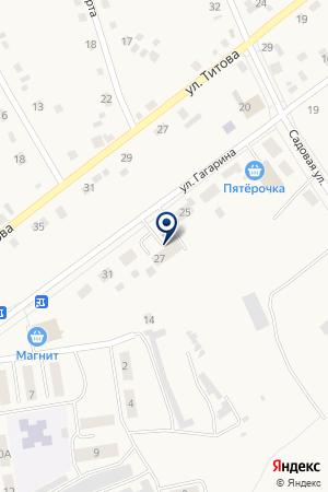 Областная больница №19 на карте Богандинского