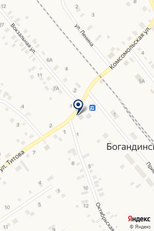 Выбор на карте Богандинского