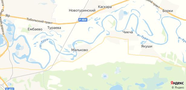 Ошкукова на карте