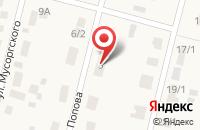 Схема проезда до компании Почта Банк в Горном