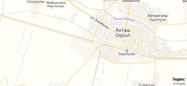 Базы отдыха Акташа с бассейном - объекты на карте