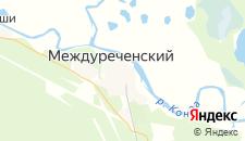 Отели города Междуреченский на карте